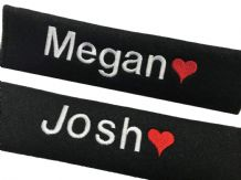 Personalised Car Seat Belt Pads